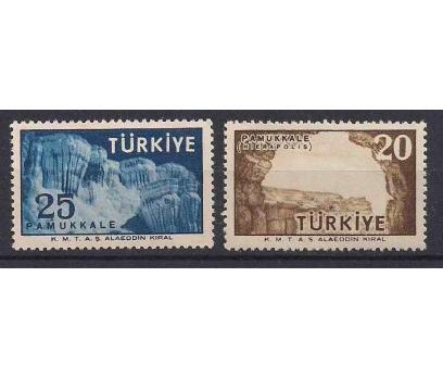 1958 Pamukkale Turistik Propaganda Damgasız**