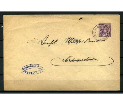 DEUTSCHE POST 1890 PORTOMARKEN POSTADAN G.Z.