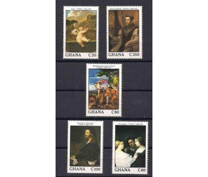 1989 Gana Titian set Damgasız**