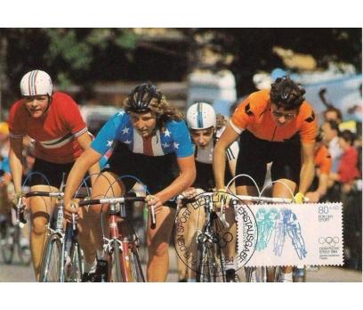 1984 Berlin Olimpiyatlar Maksimum Kart Bisiklet