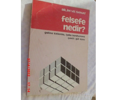 FELSEFE NEDİR - G.KRİLENKO / LYDIA KORSHUNOVA