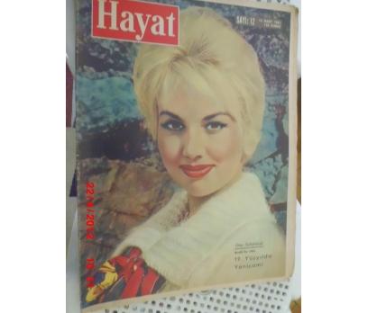 HAYAT DERGİSİ 1961 SAYI 12 MYLENE DEMONGEOT