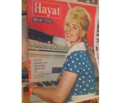 HAYAT DERGİSİ 1962 SAYI 48 VIVI BACH