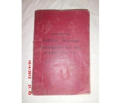 MEMORANDA ON SOME MEDICAL DISEASES - 1917 LONDON