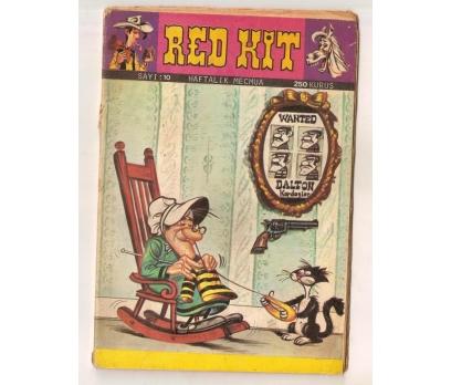 RED KİT - SAYI 10 ÇİZGİ ROMAN 250 KURUŞ