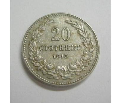 D&K-BULGARİSTAN 20 STOTINKI 1913 NİKEL