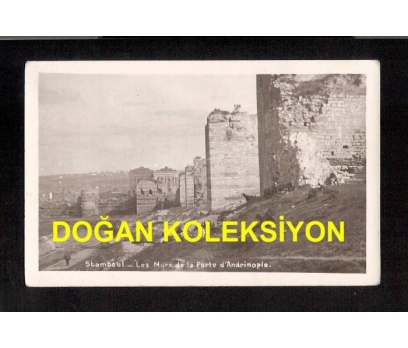 D&K- İSTANBUL EDİRNE KAPI SURLARI KARTPOSTAL