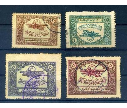 TÜRK HAVA KURUMU DAMGALI 1926 TTC BİRİNCİ SERİ