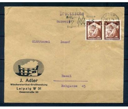 REİCH 1935 ANNE ÇOCUK PER PULUYLA PG ZARF (R)