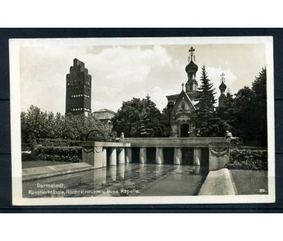 REICH 1938 DARMSTADT  POSTADAN GEÇMİŞ KARTP.(M)