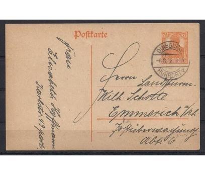 Deutsches Reich Nazi Klasik Antiye Post Card