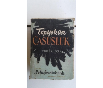 TOPYEKUN CASUSLUK 1958 BASIM CURT RIESS