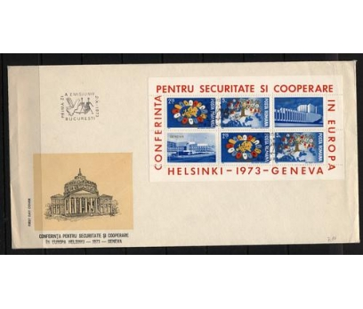 1973 Romanya Avrupa Güvenlik Fdc Michel 108