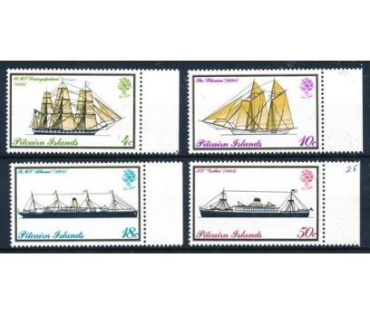 1975 Pitcairn Adaları Gemiler Damgasız**