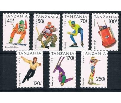 1994 Tanzanya Kış Olimpiyat Oyunları Damgasız**