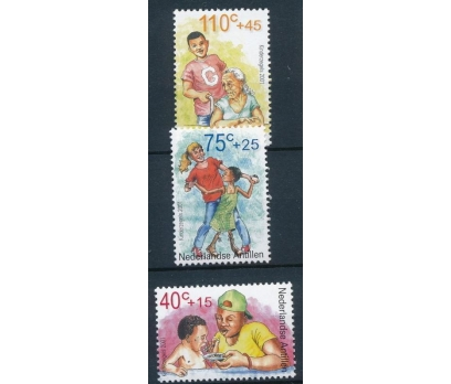 2001 Hollanda Antilleri Çocuklar Damgasız**