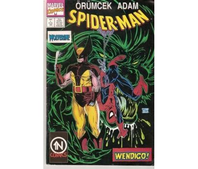 SPIDER MAN ÖRÜMCEK ADAM EYLÜL 1996 SAYI 5