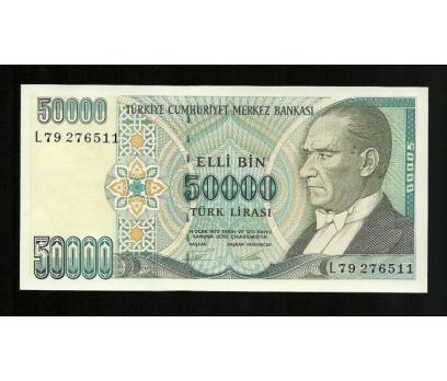 D&K-7. EMİSYON 50.000 LİRA SERİ L79 276511 ÇİL