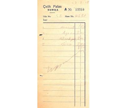 D&K-ÇELİK PALAS BURSA 1958