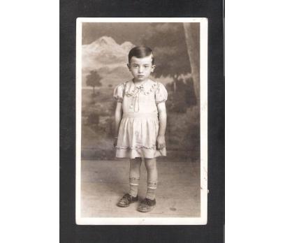 D&K- ESKİ DÖNEM KÜÇÜK KIZ 1933 YILI FOTOĞRAF