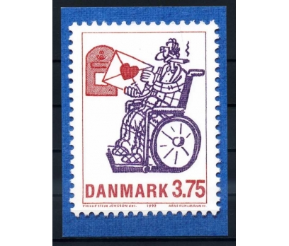 DANİMARKA ANTİYE 1992 KARİKATÜR NÖF (YT-1213)