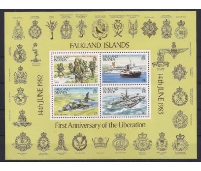 1983 Falkland Adaları Kurtuluş Yıldönüm Damgasız**