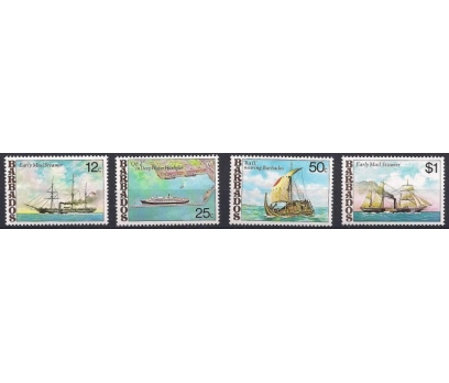 1979 Barbados Gemiler Damgasız**