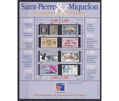 1999 Saint Pierre Miquelon Philexfrance Damgasız**