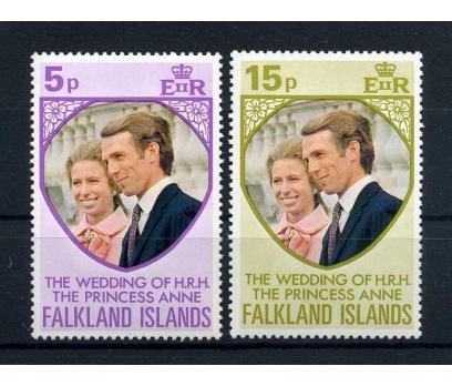 FALKLAND AD. ** 1972 PRENSES ANNE  TAM S. (E-0114) 1