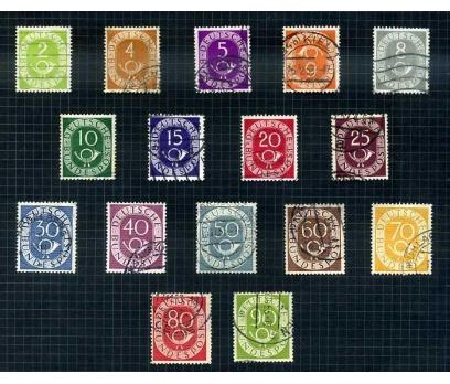 ALMANYA DAMGALI 1951 BORAZAN TAM SERİ ( E-0114 )
