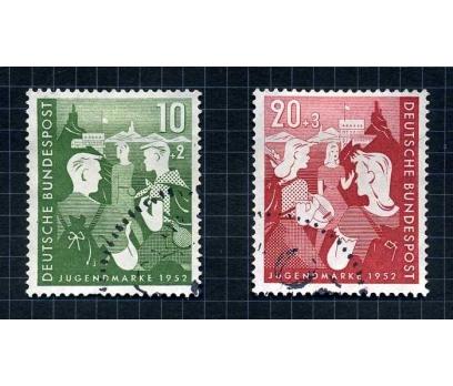 ALMANYA DAMGALI 1952 GEMİ TAM SERİ ( E-0114 )
