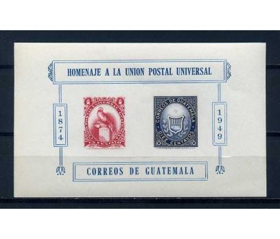 GUATEMALA ** 1951 UPU BLOK ( K-0114 )