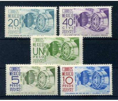 MEKSİKA * 1950-54 SERVİS  TAM S. SÜPER (K-0214 )
