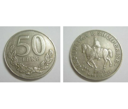 1996 ARNAVUTLUK 50 LEKE NİKEL
