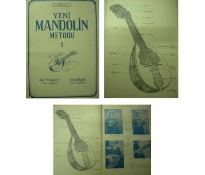 YENİ MANDOLİN METODU 1-ANKARA 1958