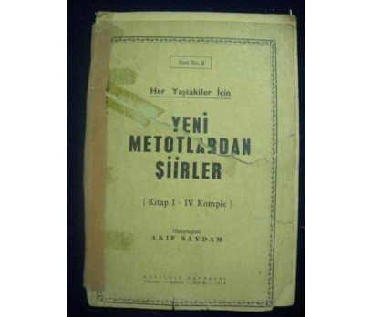 YENİ METOTLARDAN ŞİİRLER 1964