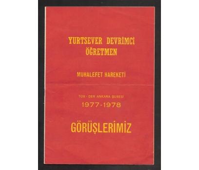 YURTSEVER DEVRİMCİ ÖĞRETMEN 1977-1978