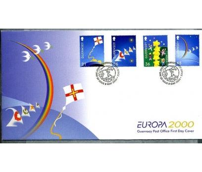 GUERNSEY ** 2000 EUROPA CEPT FDC SÜPER (280414)