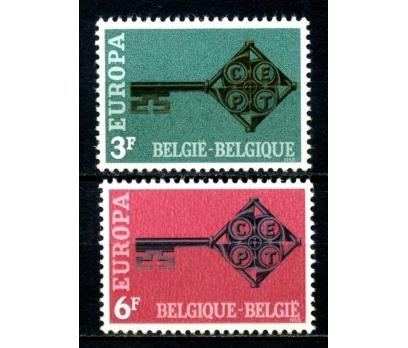 BELÇİKA **1968 E.CEPT TAM SERİ SÜPER(110514)