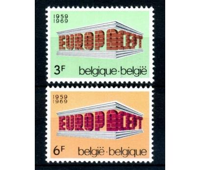 BELÇİKA ** 1969 E.CEPT TAM SERİ SÜPER(110514)