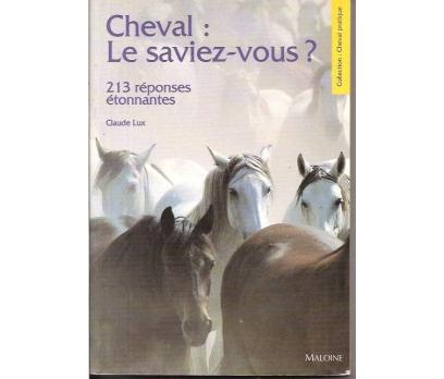 CHEVAL LE SAVIZE-VOUS-CLAUDE LUX-1996