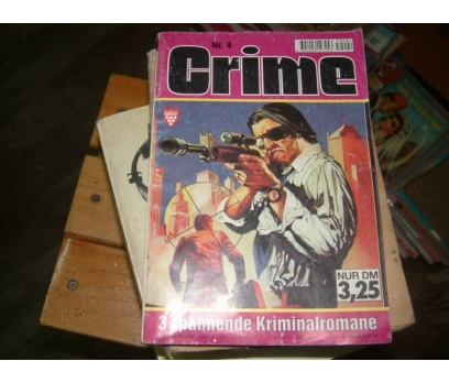 CRIME-NR.4-3 SPNANNENDE KRIMINALROMANE