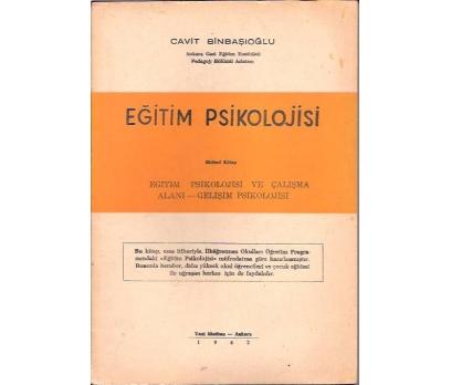 EĞİTİM PSİKOLOJİSİ-CAVİT BİNBAŞIOĞLU-1962
