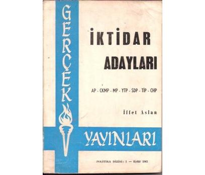 İKTİDAR ADAYLARI-İFFET ASLAN-AP-CHP-MP-YTP-SDP-T