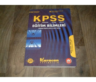 İLK&KPSS-EĞİTİM BİLİMLERİ-KARACAN YAYINLARI