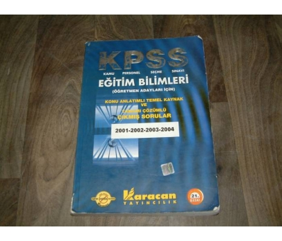 İLK&KPSS-EĞİTİM BİLİMLERİ