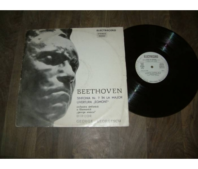 İLKS&BEETHOVEN-ELECTRECORD-G.GEORGESCU - LP