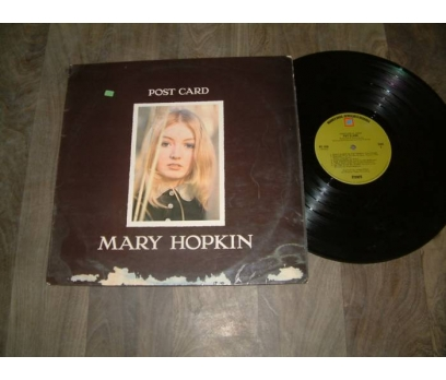 İLKS&MARY HOPKIN-POST CARD-THIS IS MY SONG- LP
