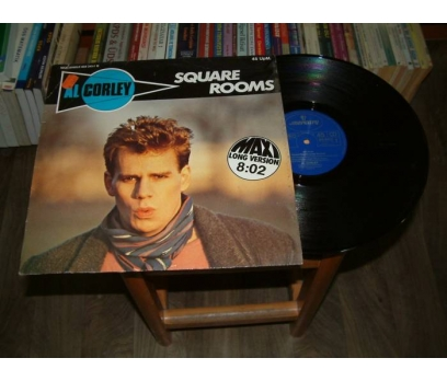 İLKSAHAF&AL CORLEY-SQUARE ROOMS-LP PLAK