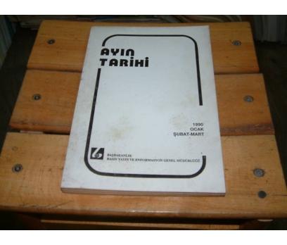 İLKSAHAF&AYIN TARİHİ-1990-OCAK ŞUBAT MART